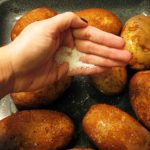 How to Cook Baked Potatoes for Large Groups